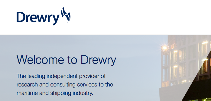 drewry shipping market insights