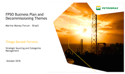 FPSO Business Plan and Decommissioning Themes | Global Maritime Hub